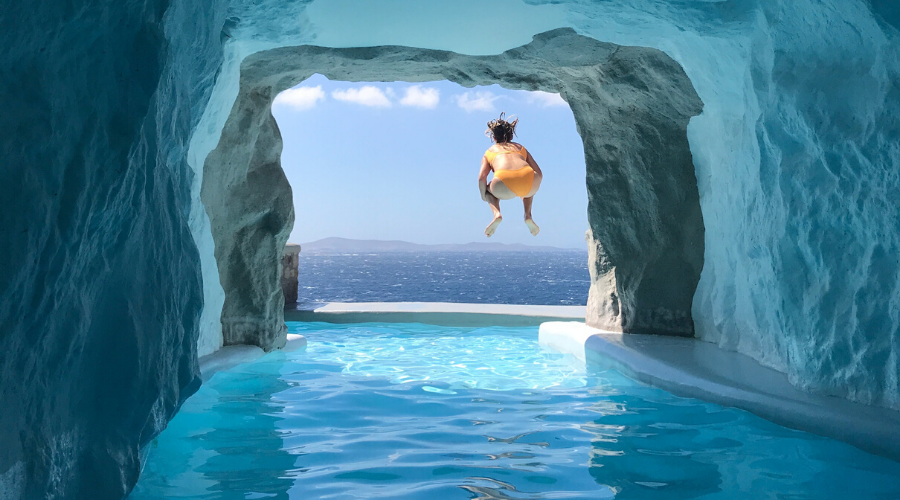 Hotel Review: Cavo Tagoo, Mykonos Greece | The Most Instagram Famous Resort Suite in the World